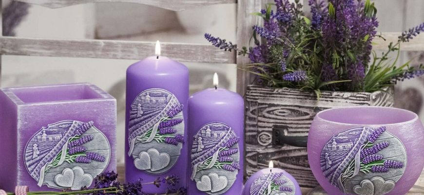 Изготовление свечей
